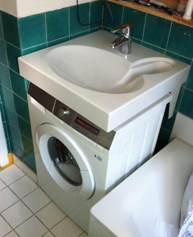 Материалы - Раковина над стиральной машиной