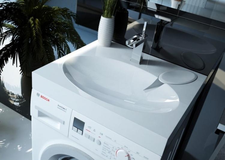 Защита от перелива - Раковина над стиральной машиной