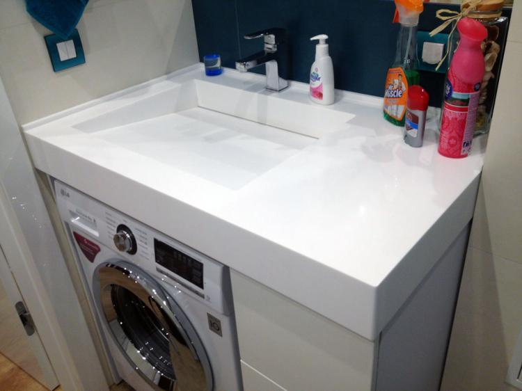 Слив - Раковина над стиральной машиной