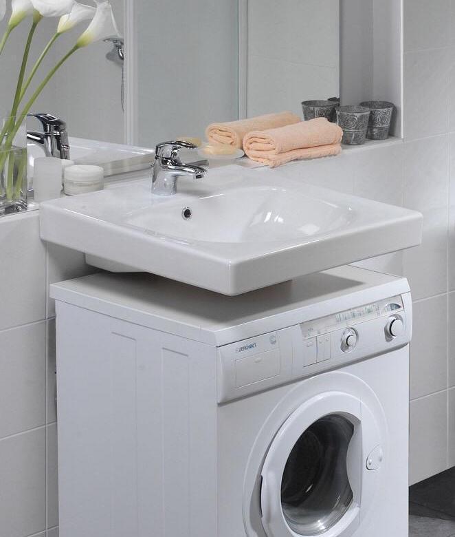 Стабильность конструкции - Раковина над стиральной машиной