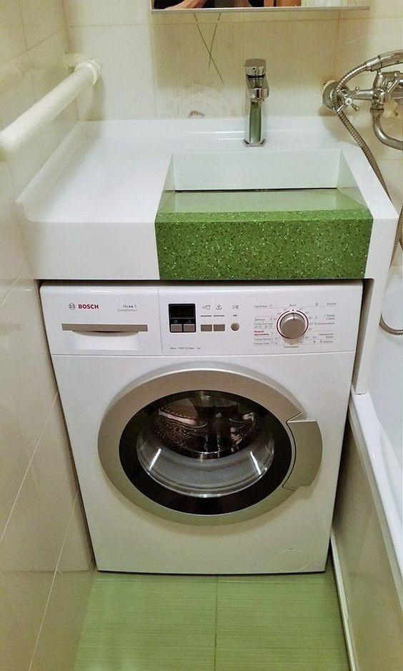 Смеситель - Раковина над стиральной машиной