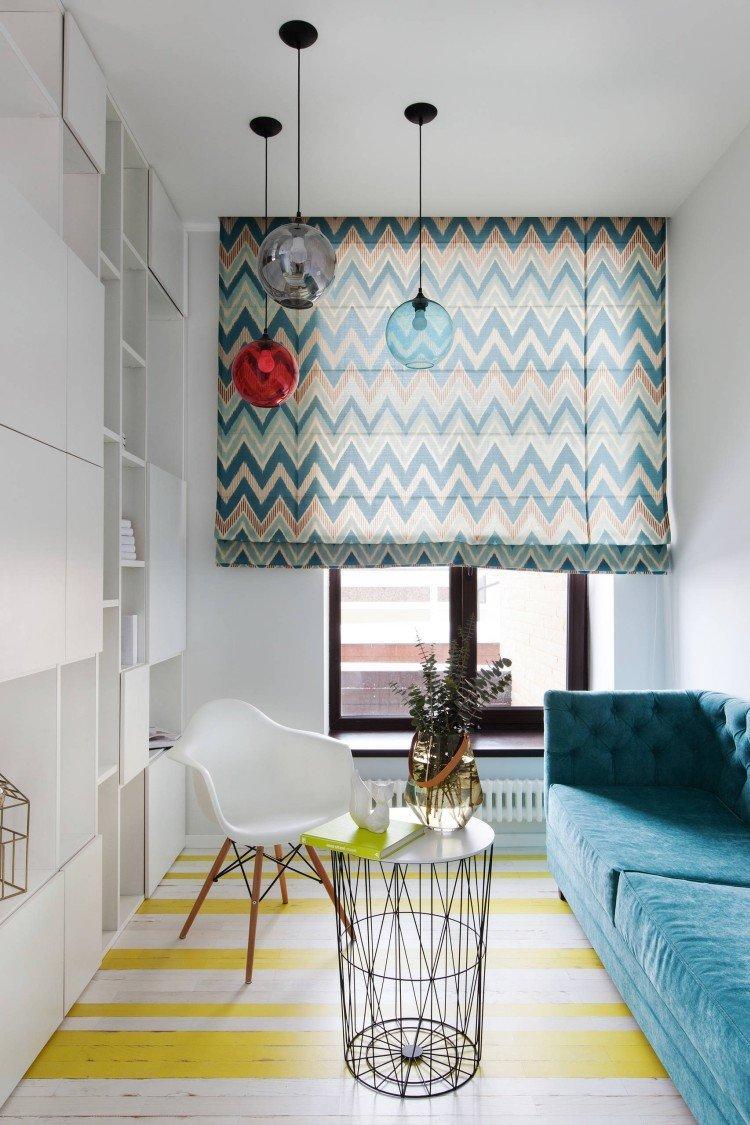 Цветовые решения - Римские шторы