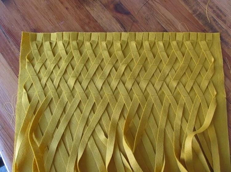 Плетеная декоративная наволочка - Рукоделие для дома