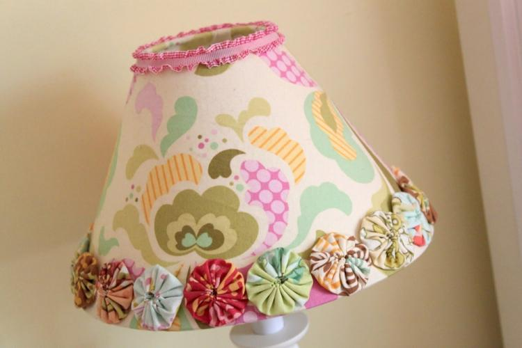 Декоративный абажур для торшера - Рукоделие для дома