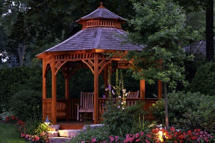 Садовые беседки: 130 идей дизайна (фото)