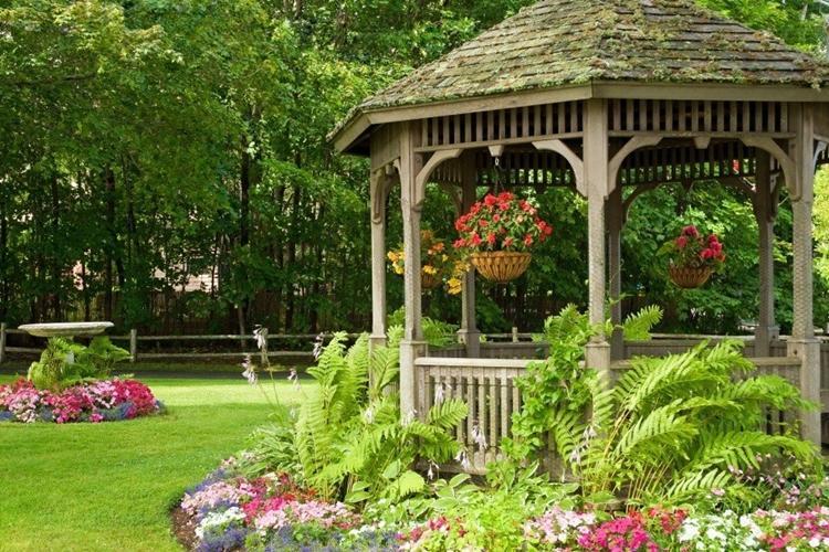 Романтичные беседки - Садовые беседки