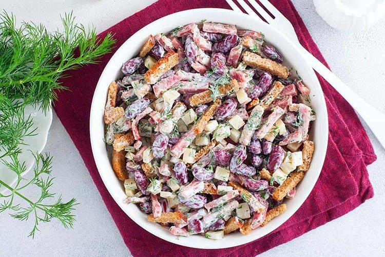 Салат Закусочный на день рождения - рецепты