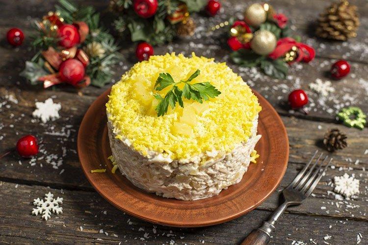 Салат Сердцеедка на день рождения - рецепты