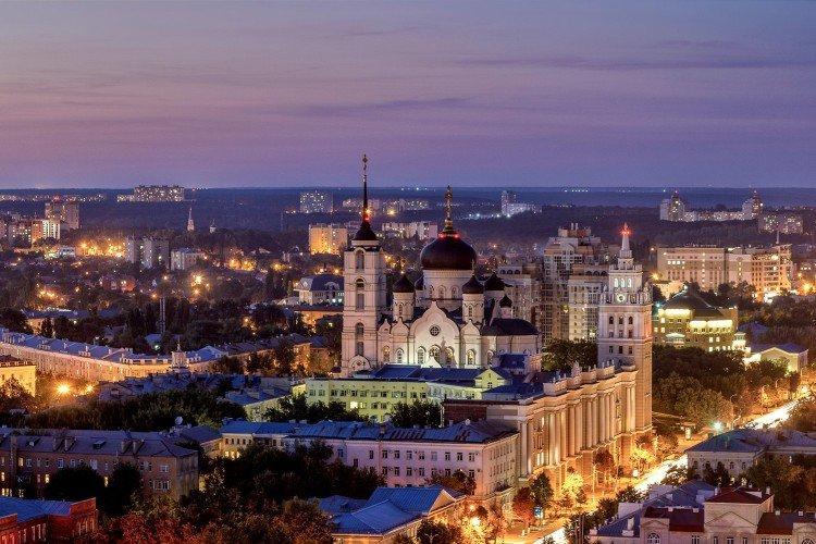 Воронеж - Самые красивые города России