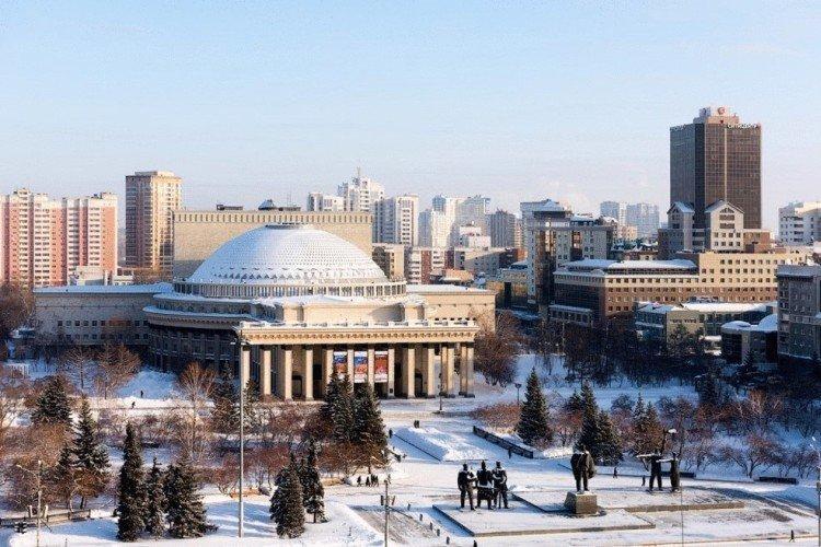 Новосибирск - Самые красивые города России