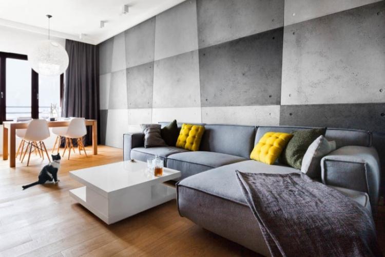 Серый цвет в интерьере: идеи дизайна (100 фото)