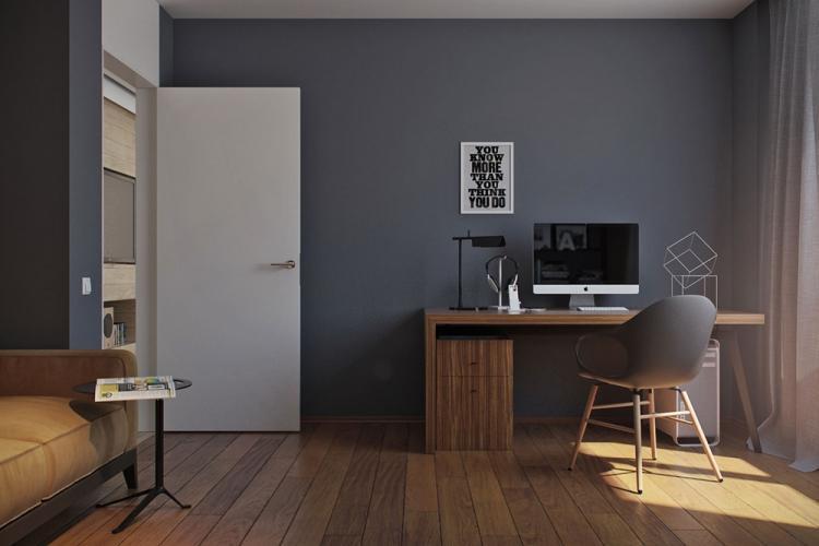 Серый с коричневым - Сочетание цветов в интерьере