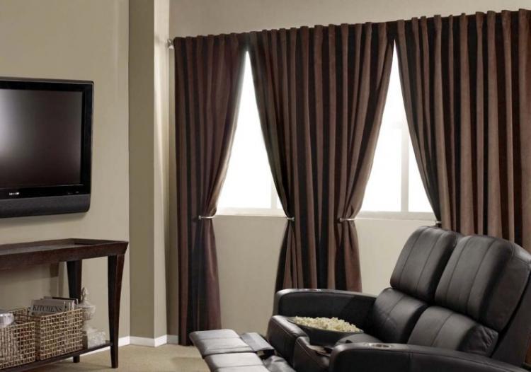 Блэкаут - Виды штор для гостиной