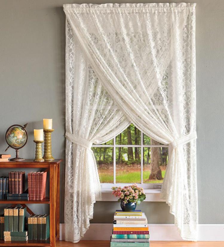 Шторы-присциллы - Виды штор для гостиной