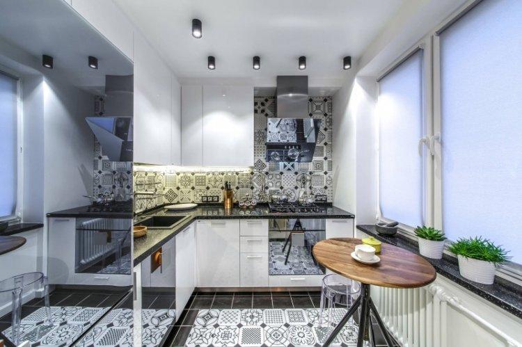 Рулонные шторы - Виды штор для кухни