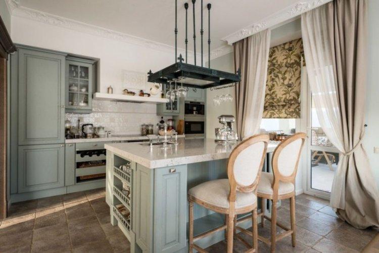 Шторы для кухни - фото и идеи