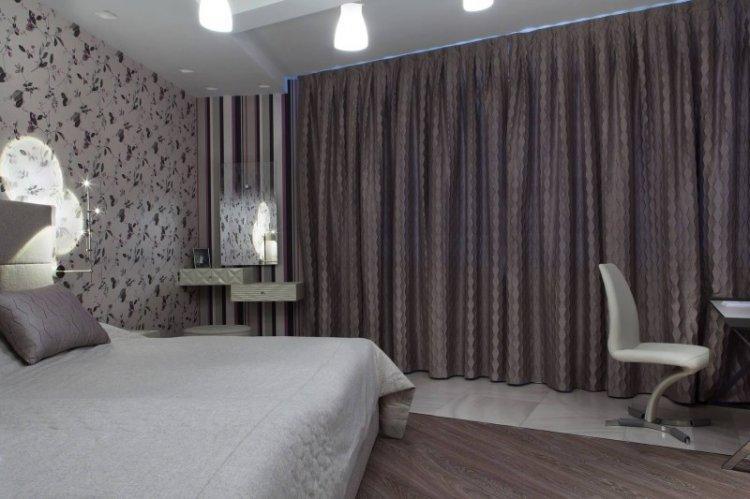 Шторы-блэкаут - Виды штор для спальни