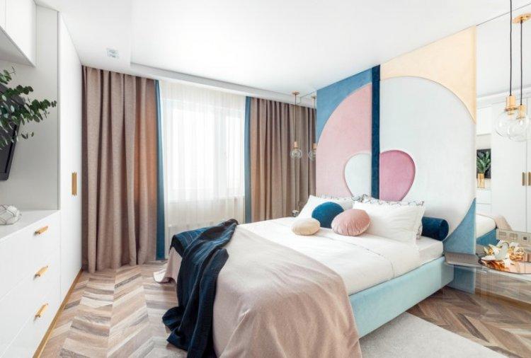 Шторы для спальни - фото и идеи