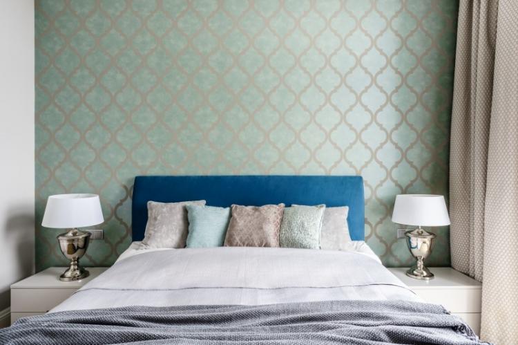 Шторы в спальню в современном стиле (70 фото)