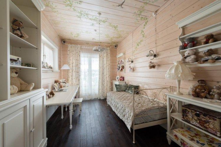 Шторы в стиле прованс в детской комнате - дизайн фото