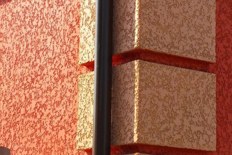 Штукатурка короед для фасадов - фото и идеи