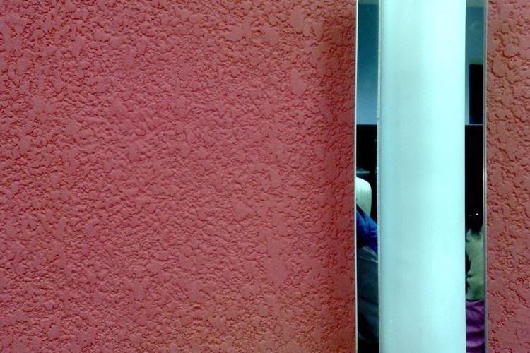Штукатурка короед в интерьере - фото и идеи