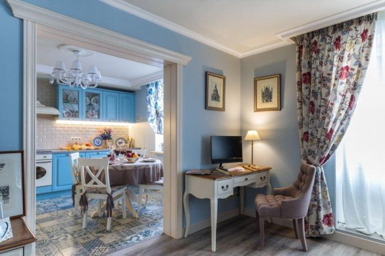 Прованс - Синий цвет в интерьере