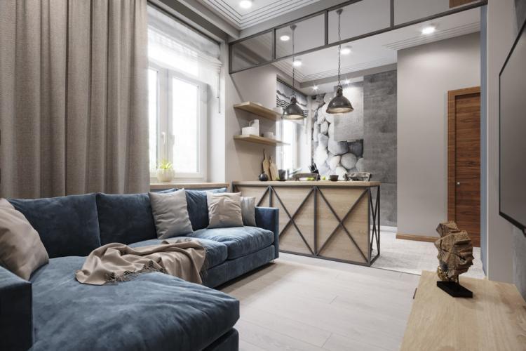 Soft Loft: Квартира 27 кв.м.