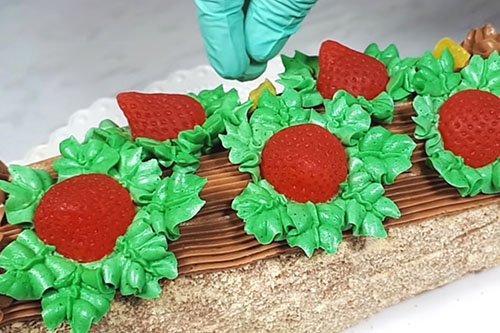 Советский торт «Сказка» - рецепт пошагово