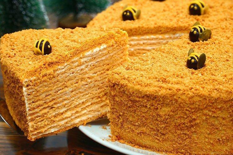 Торт «Медовик» - рецепт по советскому ГОСТу