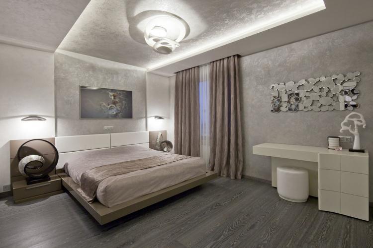 Спальня «Теплота минимализма»