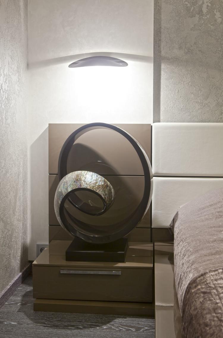 Спальня «Теплота минимализма» - дизайн интерьера