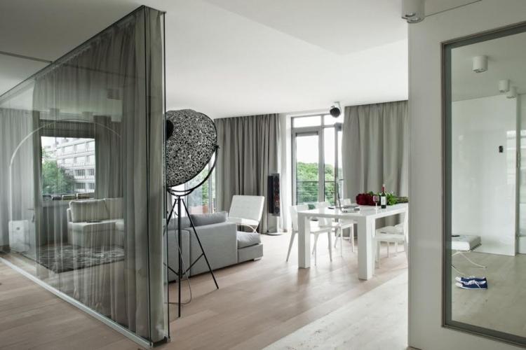Преимущества - Стеклянные перегородки в квартире