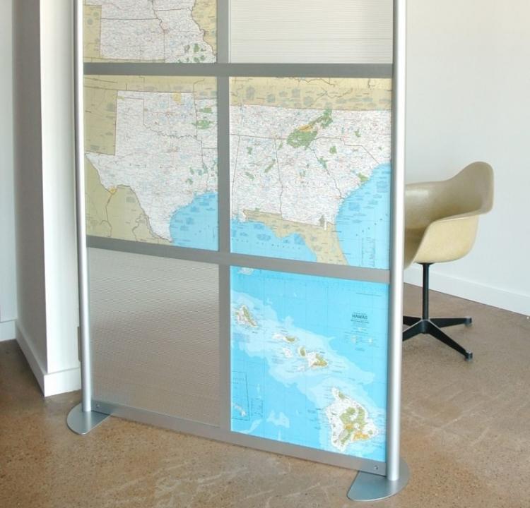 Мобильные перегородки - Виды стеклянных перегородок в квартире