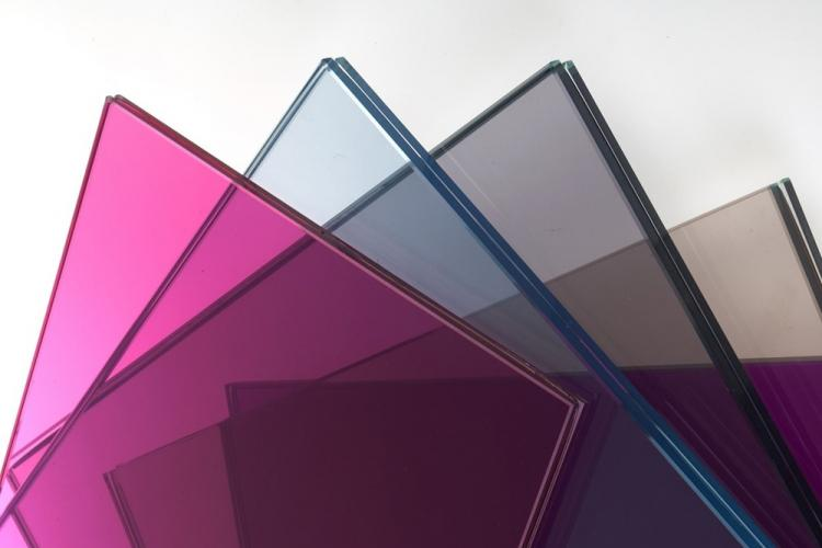 Тонированное стекло - Стеклянные перегородки в квартире