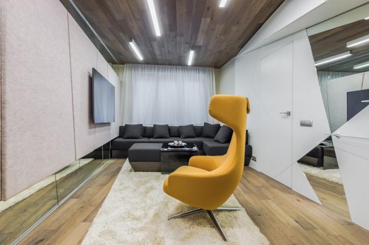 Мебель - Стиль хай-тек в интерьере