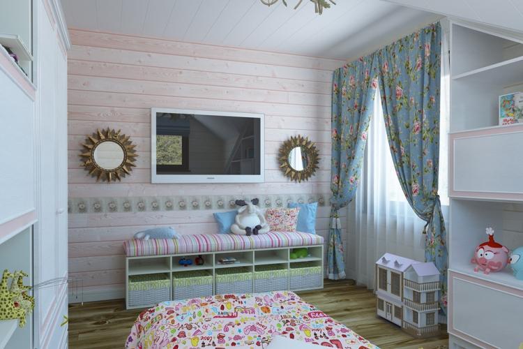 Прованс в интерьере детской комнаты