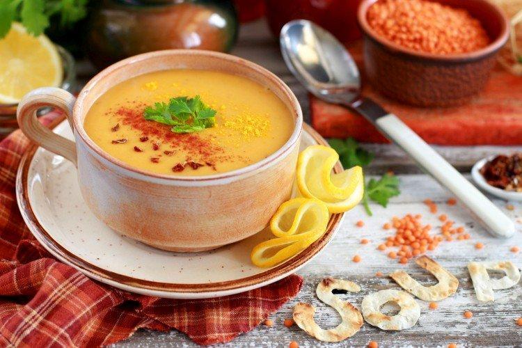 Суп-пюре из чечевицы - вкусные рецепты