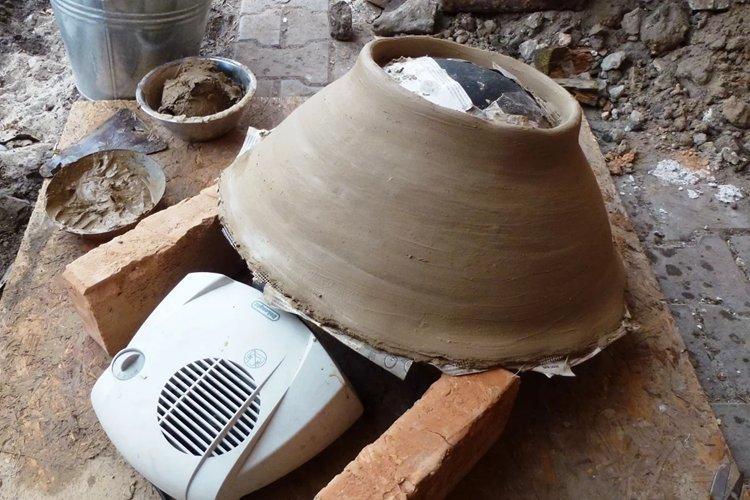 Тандыр из глины своими руками - как сделать