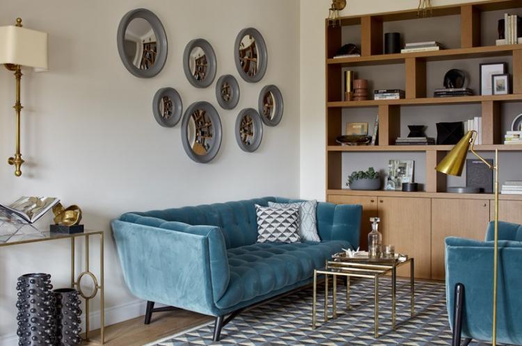 Трехкомнатная квартира в ЖК «Камелот», Хамовники - дизайн интерьера