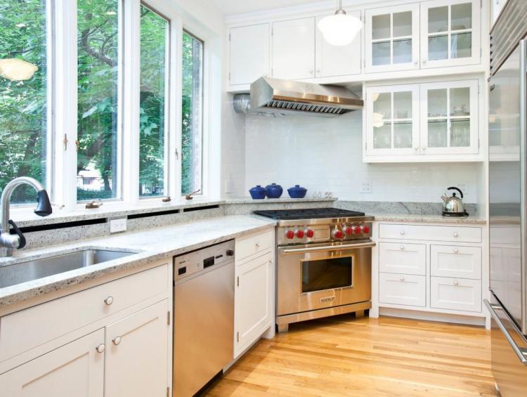 Угловая плита - Угловые кухни