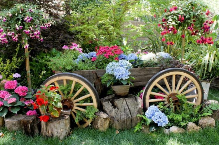 С чего начать - Украшения для сада своими руками