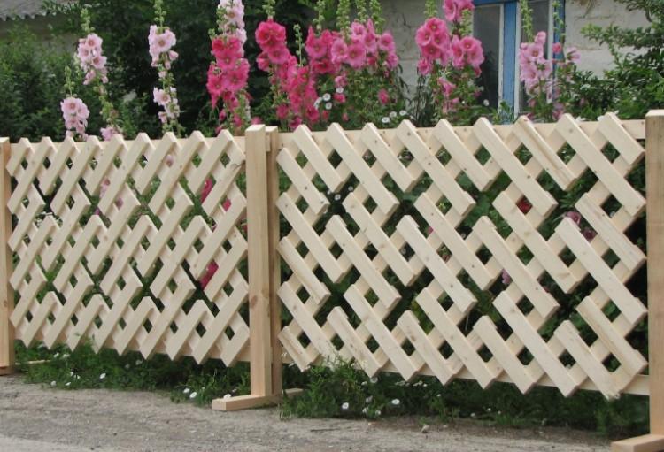 Заборы и ограждения - Украшения для сада своими руками