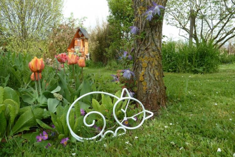 Проволока - Декоративные украшения для сада своими руками