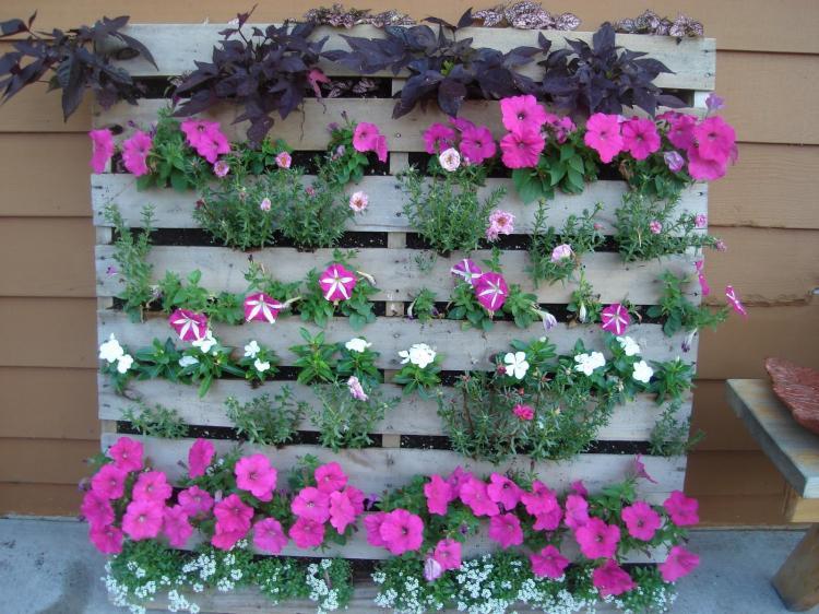 Паллеты - Декоративные украшения для сада своими руками