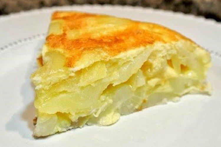 Картофельный омлет - Ужин за 15 минут рецепты