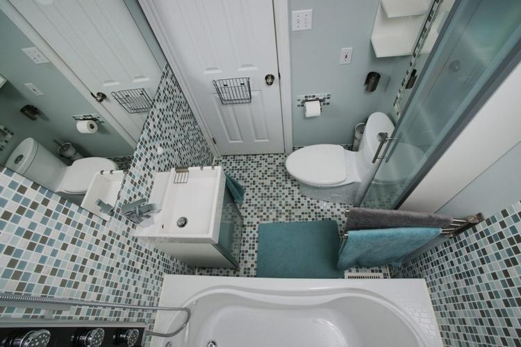 Дизайн ванной комнаты в хрущевке (90 фото)