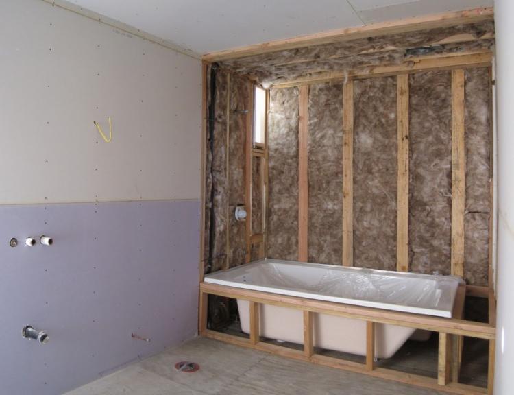 Отделка стен - Дизайн ванной комнаты в хрущевке