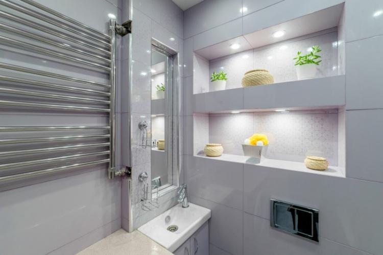 Освещение и подсветка - Дизайн ванной комнаты в хрущевке