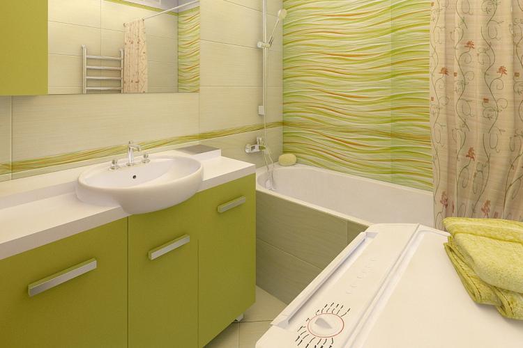 Мебель - Дизайн ванной комнаты в хрущевке